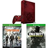 Xbox One S 2TB Console - Gears of War 4 Limited Edition Bundle + Call of Duty + The Division