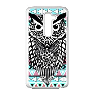 Unique black owl Cell Phone Case for LG G2
