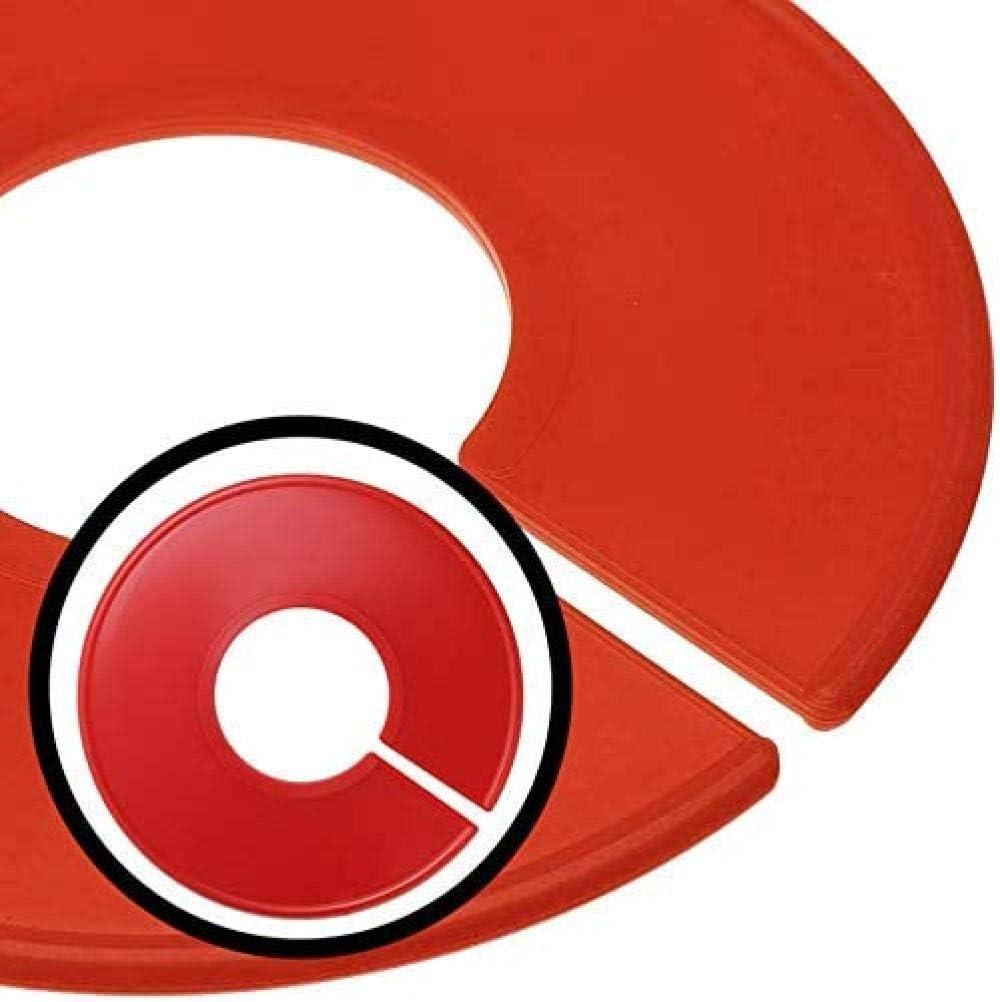 LHYLHY S/éparateurs de Garde-Robe S/éparateurs de Taille Ronds Cintres Ronds Organisateur de Placard S/éparateur de Taille de v/êtements