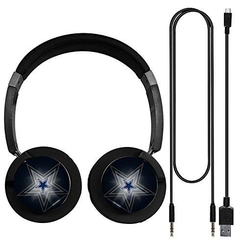 Sound-LG Original Wireless Headphones Bluetooth Dallas Cowboys Headset with Microphone NFC hifi music Wireless Earphones for Phone