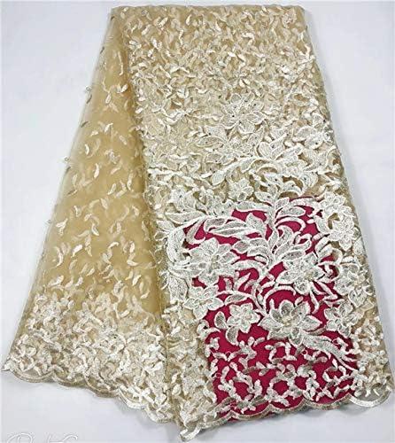 Laliva - Red de tela de tul africano para coser vestidos ...