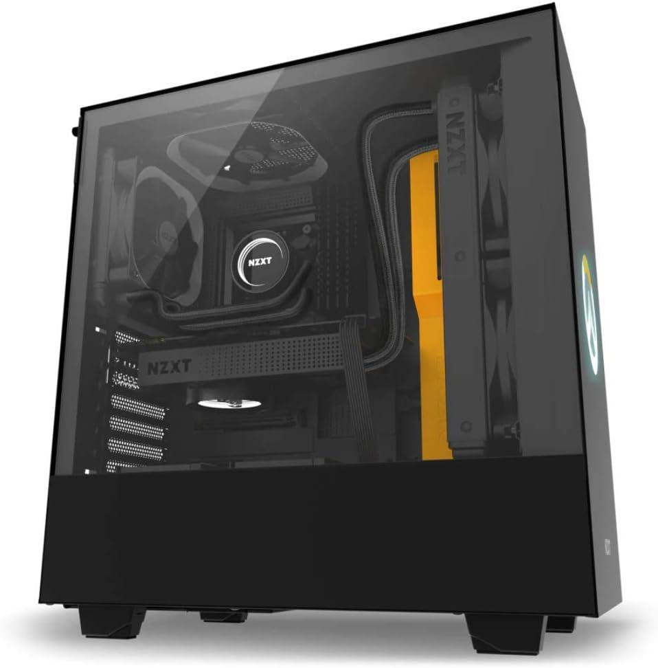 NZXT H500 Overwatch Midi-Tower Negro - Caja de Ordenador (Midi ...