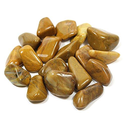 Yellow Jasper Tumble Stone 20-25mm (1)