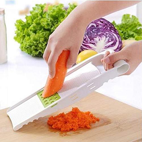 (Veget - Plastic Carrot Cucumber Shredders Slicers Potato Onion Lemon Cutter Graters Fruit Vegetable Salad - Steel Scissors Cutting Thin Joseph Green Potato Automatic Blade Professional Under)