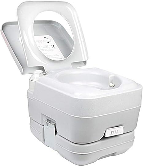 HOYOCE Portátil WC Quimico, 10L Materiales De Alta Densidad ...