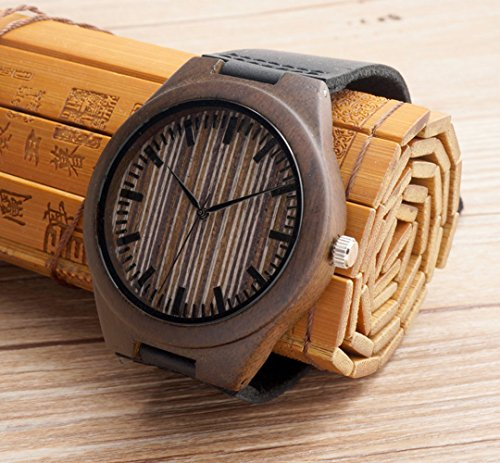 Wood Engraved Watch Personalized; Anniversary, Weddings, Groomsmen, Best Man, Christmas for Him