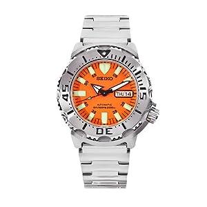 Seiko men 39 s skx781 orange monster automatic - Orange dive watch ...