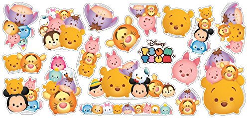 Disney Tsum Tsum Decorative Sticker 18 Elements Decals (Winnie the Pooh)