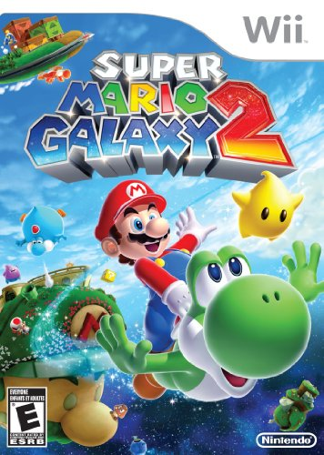 Super Mario Galaxy 2 (Best Wii Games For 7 Year Old Boy)