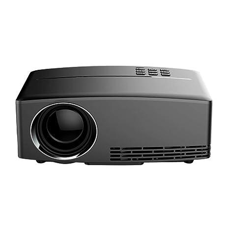 AN Proyector HD, Proyector Portátil para El Hogar Chip De TV LCD ...