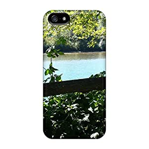 YqV275lsfp Faddish Skagit River Fenced In Case Cover For Iphone 5/5s