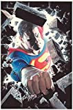#7: SUPERMAN Poster, Alex Ross, 22x34, 2005, Unused, JLA, Sealed, more DC in store