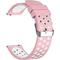 Cooljun Compitable avec Huawei Watch GT,Bracelet de Rechange en Silicone Sport Classique