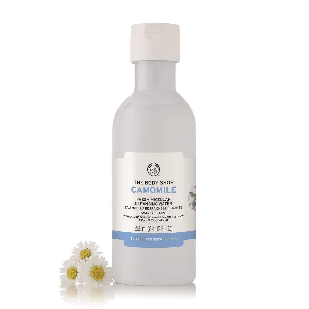 The Body Shop Agua de limpieza micelar de manzanilla fresca - Edición limitada: Amazon.es: Belleza