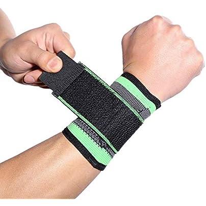 1Pcs Nylon Adjustable Sports Wrist Brace Wrap Breathable Hand Wrist Bandage Support Fitness Gym Strap Wristband Estimated Price £8.19 -