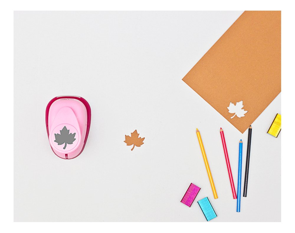pink efco 2,5/cm Medium Maple Leaf