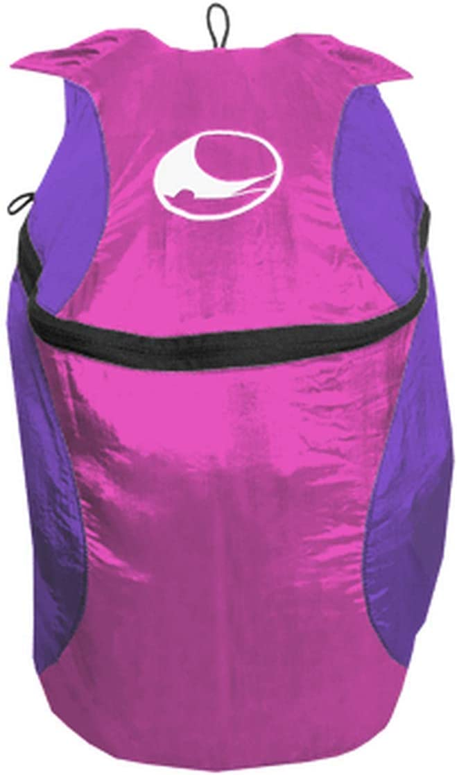 Ticket To the Moon Mini Backpack Eco-Friendly 28x42x15 cm 15L Capacity Pink Purple
