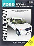 Chilton Ford Pick-Ups 2004-14 Repair Manual: Covers U.S. and Canadian models of Ford F-150 Pick-ups 2004 through 2014: Does no include F-250, Super ... (Chilton's Total Car Care Repair Manual)