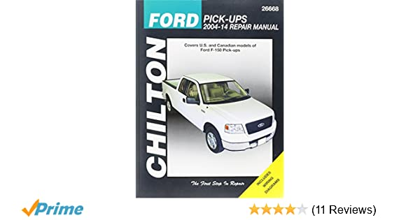 Chilton ford pick ups 2004 14 repair manual covers us and chilton ford pick ups 2004 14 repair manual covers us and canadian models of ford f 150 pick ups 2004 through 2014 does no include f 250 super fandeluxe Image collections