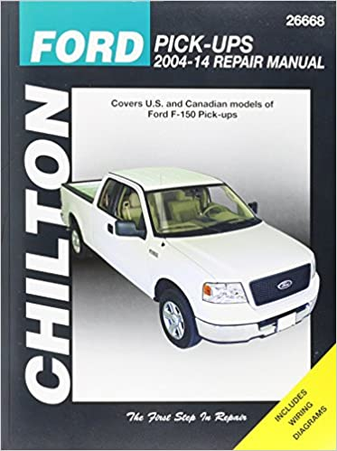 Chilton ford pick ups 2004 14 repair manual covers us and chilton ford pick ups 2004 14 repair manual covers us and canadian models of ford f 150 pick ups 2004 through 2014 does no include f 250 super fandeluxe Choice Image