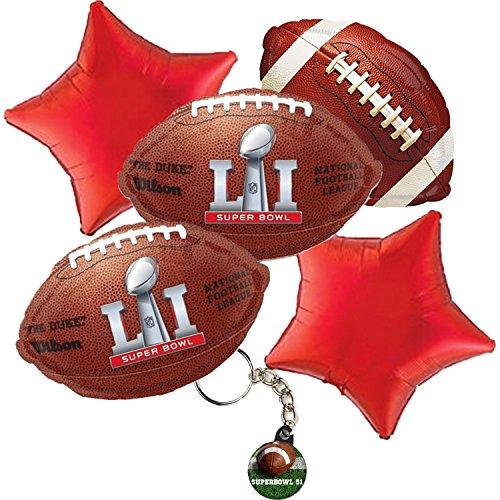 2017 Super Bowl 51 Party Balloon Bouquet