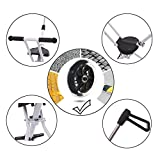 NUOYUO Portable Trike for 2-8 Years Old Lightweight Baby Stroller Lift and Fold with One Hand(White)