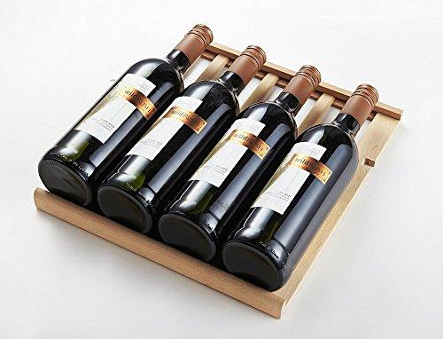 Phiestina 33 Bottle Wine Cooler Double Zone Steel Door with Handle by phiestina (Image #5)