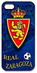 Real Zaragoza Logo FC HD image case cover for iphone 5 black A Nice Present