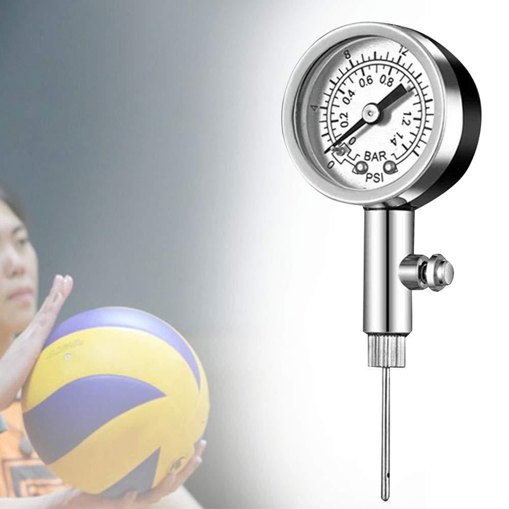 XHXseller - Bomba de Metal con manómetro, balón de Baloncesto Air ...