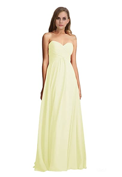 LOVEBEAUTY Womens Floor Length Sleeveless Formal Dress Ivory US 20