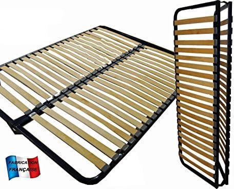 MEUBLEPRO Somier Plegable 160 x 200: Amazon.es: Hogar