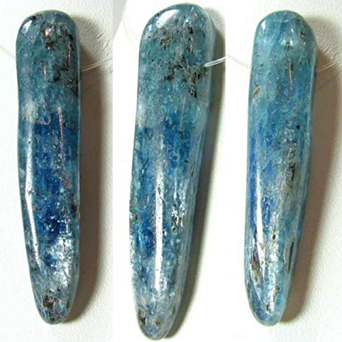 85cts! Organic! Blue Kyanite Pendant Bead for Jewelry Making 10418Z