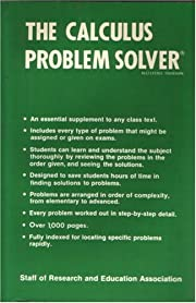 The calculus problem solver : a complete…