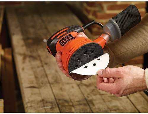 BLACK DECKER BDERO100 Random Orbit Sander, 5-Inch Renewed