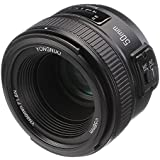 YONGNUO YN 50mm F1.8 Standard Prime Lens Large Aperture Auto Manual Focus AF MF for Nikon DSLR Cameras