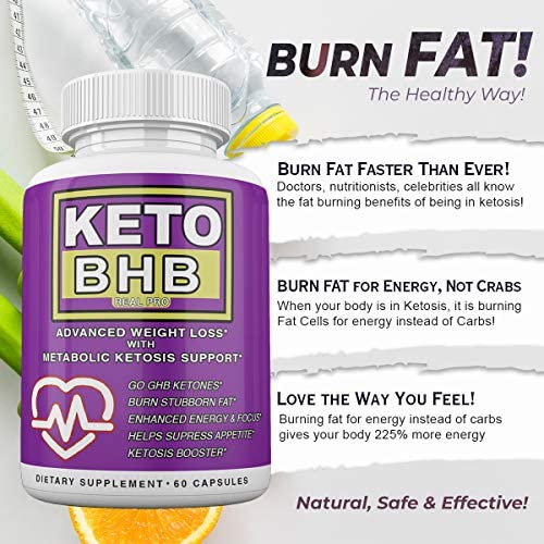 Keto BHB and ACV Real PRO - Organic Apple Cider Vinegar with Mother Capsules - Keto Advanced Weight Loss Supplement - 1 Month Combo 8