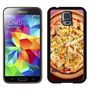 Popular And Unique Designed Case For Samsung Galaxy S5 I9600 G900a G900v G900p G900t G900w Phone Case With Tasty Pizza Phone Case Cover