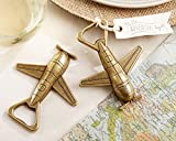 60 ''Let The Adventure Begin'' Airplane Bottle Openers