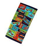 "abobo Beach Towel – 100% Pure Cotton, Sport Cars Beach Towels for Kids for Beach/Bath / Pool (60""×30"" 0.83 LB) …"