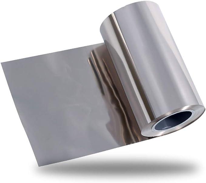 99.96/% Nickel Ni Metal Foil Thin Sheet Pure 0.1mm x 100mm x 1000mm