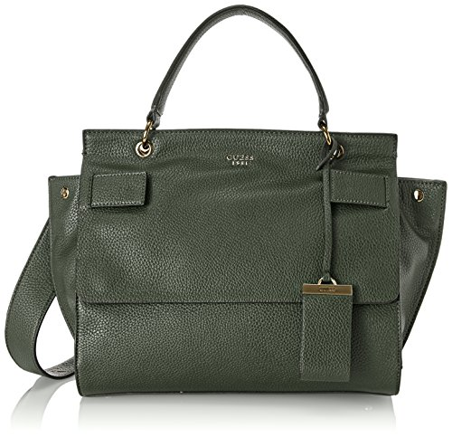 Guess Hwvg6781190, Borsa a Mano Donna, 13x22.5x28.5 cm (W x H x L) Verde (Forest)