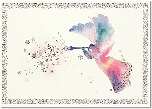 watercolor angel deluxe boxed holiday cards christmas cards greeting cards peter pauper press 9781441323613 amazoncom books - Amazon Christmas Cards