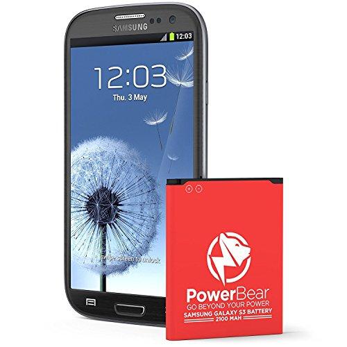 PowerBear Samsung Galaxy S3 Battery | 2,100 mAh