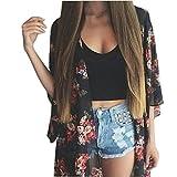 Best sannysis Friend Gifts Shirts - Sannysis Summer Women Floral Cool Beach Kimono Cardigan Review
