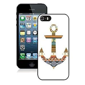 Slim Iphone 5s Soft Rubber Black Case Mate Anchor Aztec TPU Iphone 5 Cover