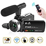 Best Camcorders - Camcorder Digital Video Camera, Camcorder with Microphone WiFi Review