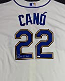 Robinson Cano Autographed Majestic Cool Base Seattle Mariners Alternate Jersey Size L MCS Holo