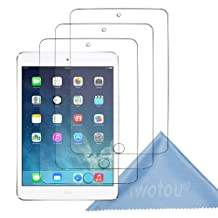Iwotou 3- PACK Apple iPad Air (5th Generation) High Definition HD Clear Screen Protectors/ Shield with Cleaning Cloth
