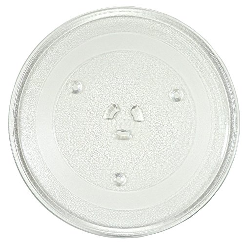 HQRP 12.5-inch Glass Turntable Tray for Maytag DE74-20015 DE74-20015G DE74-20015B UMV1152CAQ16 UMV1152CAS UMV1152CAS16 Microwave Oven Cooking Plate 318mm + HQRP Coaster
