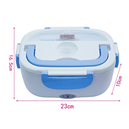 Fiambrera eléctrica comida térmico Lunch Box Tartera electrica coche multifuncion fiambrera mechero 12V calentador de comida par sweetlife: Amazon.es: Hogar